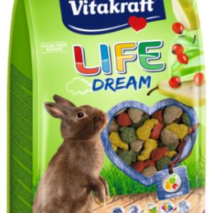 Vitakraft life dream coniglio nano 600 g