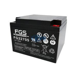 batteria HO gel 12v/26ah ricaricabile