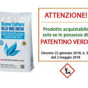Rame Caffaro blu WG 1kg
