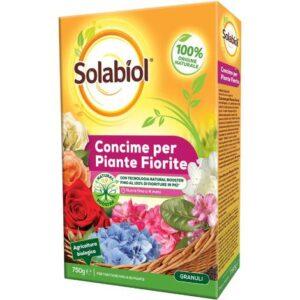 Concime biologico per piante fiorite Solabiol 750g