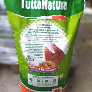 Mangime speciale per ovaiole – Ovobello farina – Tutto natura – Mignini mangimi