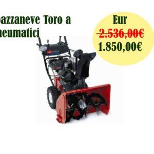 Spazzaneve Toro a pneumatici mod.TO-38629 826 OE